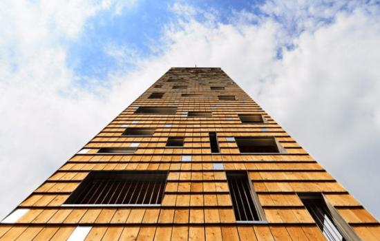 Woodrise, ou l eloge de la construction bois de moyenne et grande hauteur