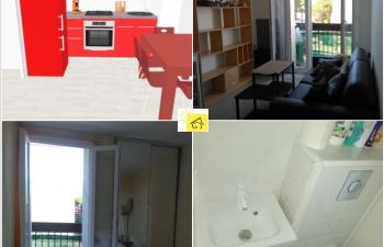 Vente Appartement T1 Argelès-sur-Mer 30 m carré - 1